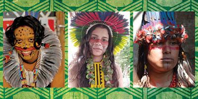 Novos militantes indígenas