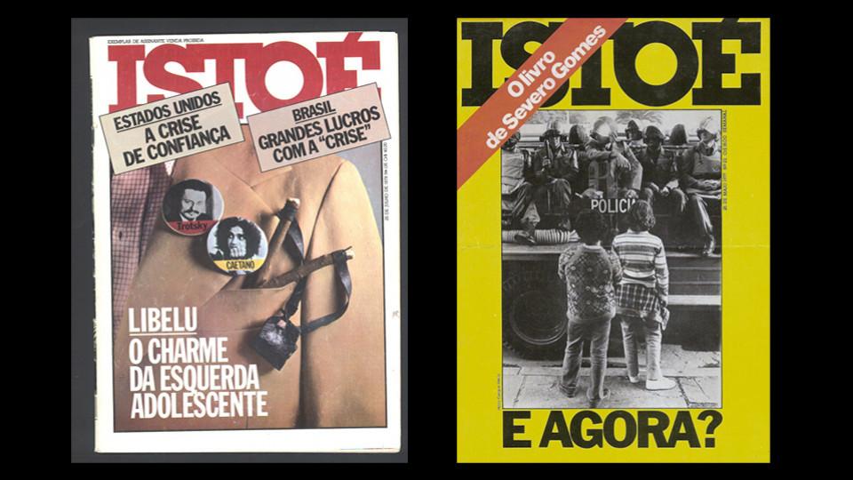 Capas da revista ISTOÉ de 1979 e 1977: Libelu e o levante estudantil
