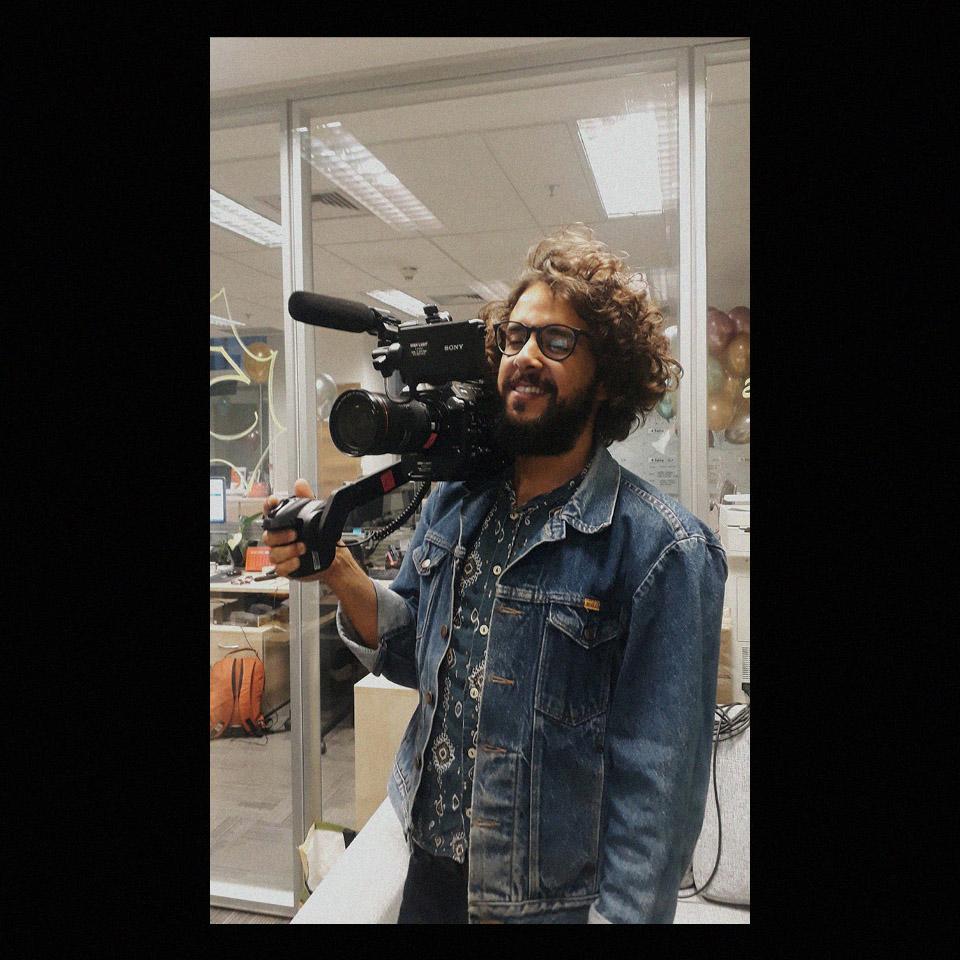 """O cineasta Diógenes Muniz, diretor do documentário """"Libelu – Abaixo a Ditadura"""""""