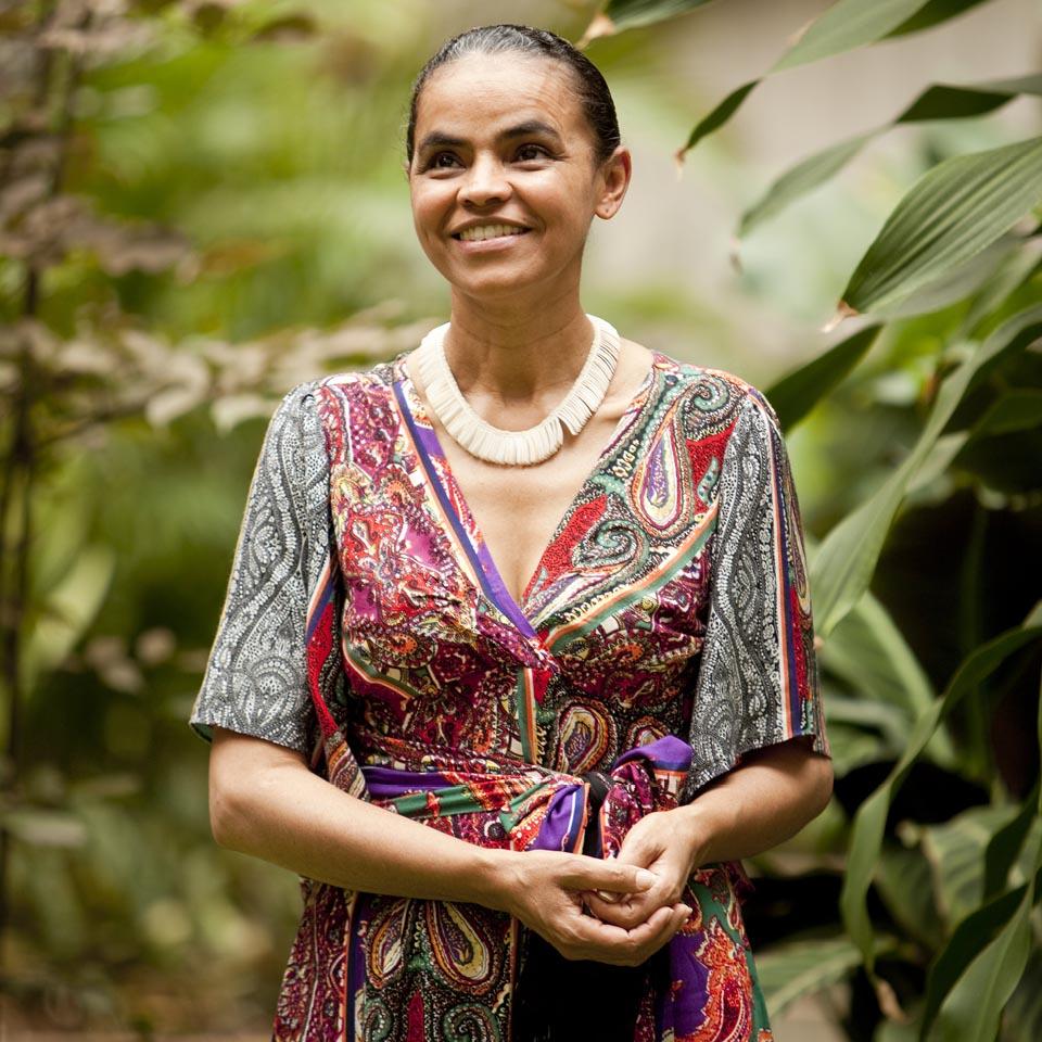 Marina Silva, ambientalista, historiadora, pedagoga e ex-senadora, em foto para a revista Tpm em 2009