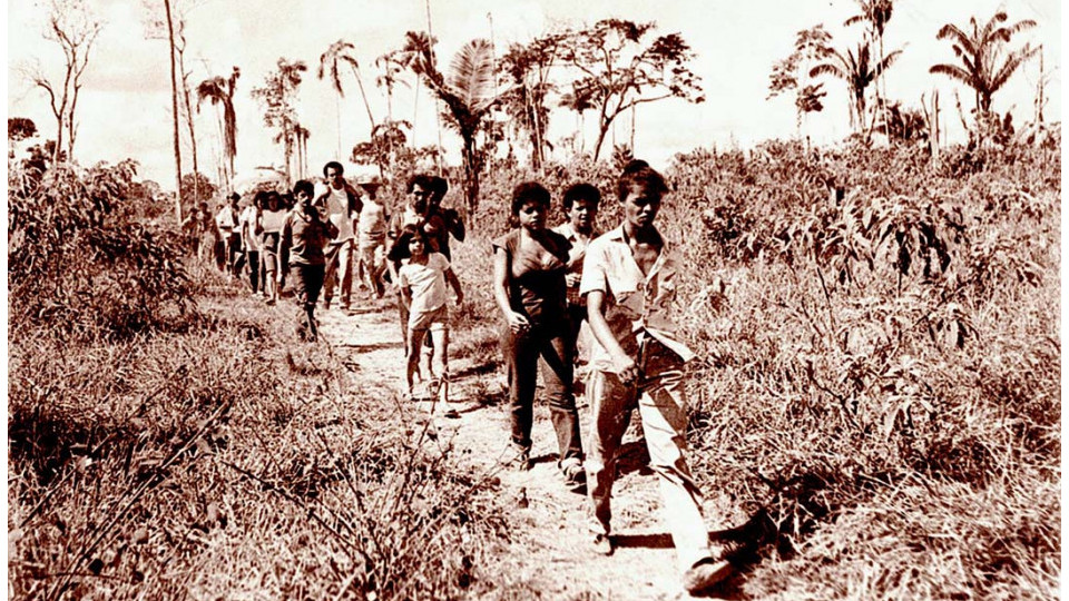 Marina Silva liderando ação contra desmatamento no Acre