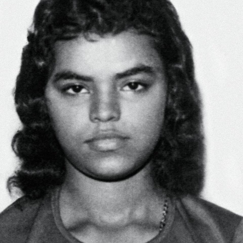 Foto de Marina Silva aos 17 anos