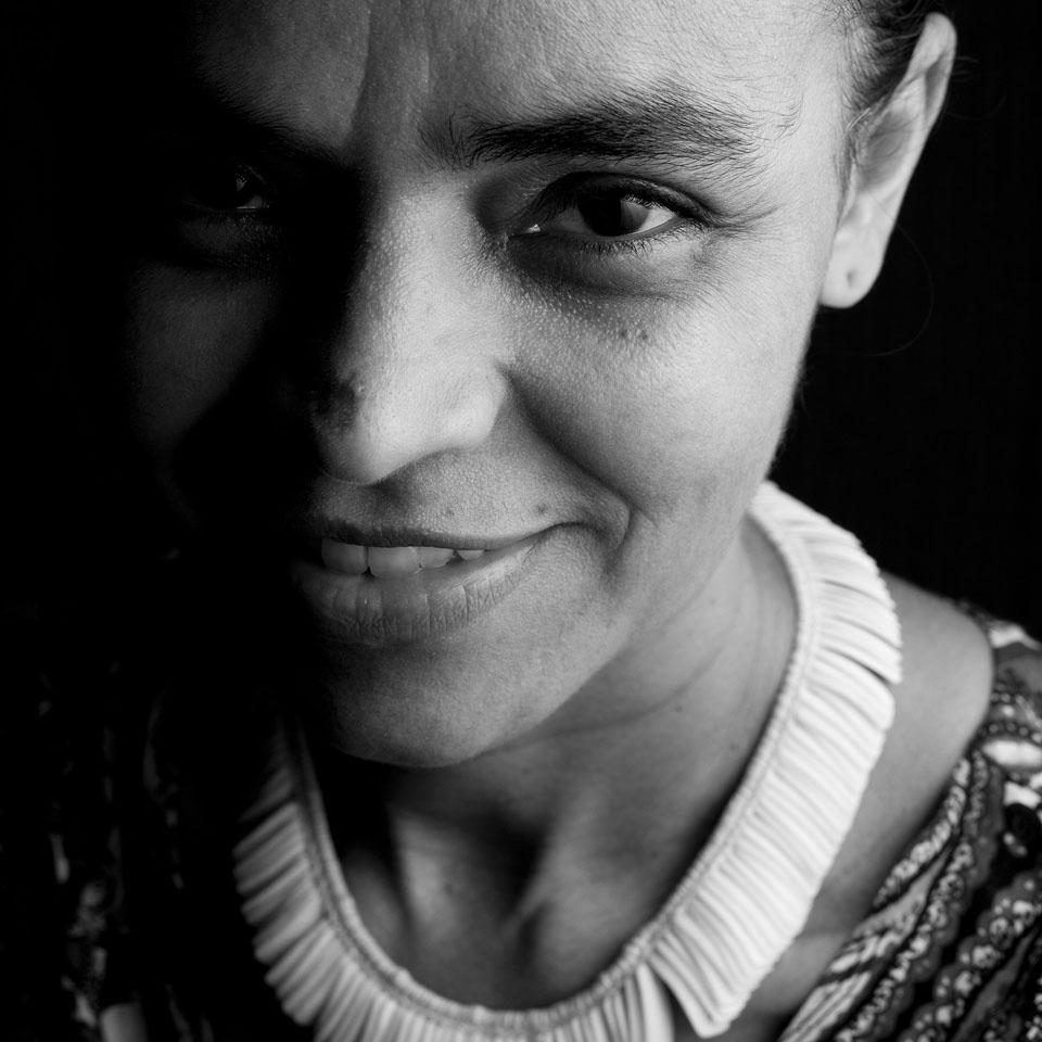 Marina Silva em foto para a revista Tpm