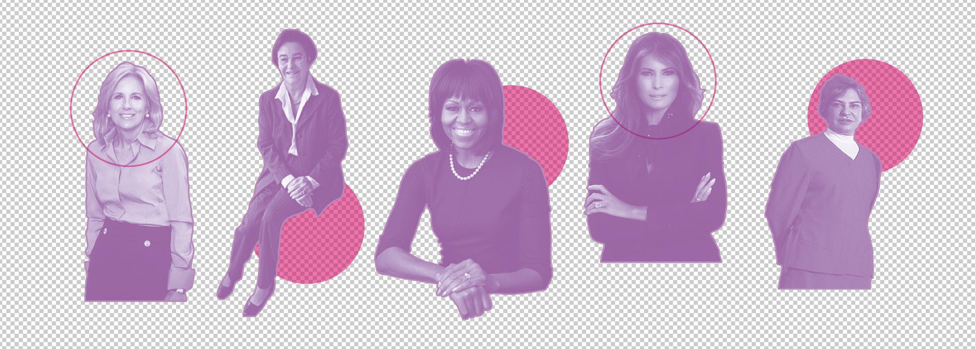 Por que comparamos as primeiras-damas?