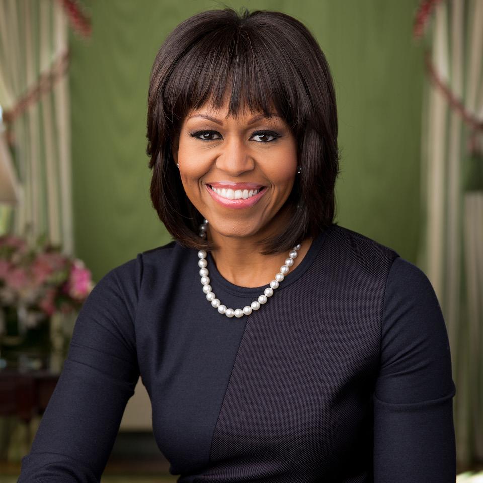 Durante o governo de seu marido, Michelle Obama deixou a carreira de advogada de lado para usar sua voz como inspiração