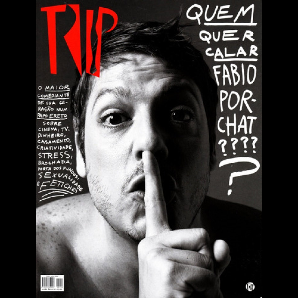 Capa da revista Trip #282