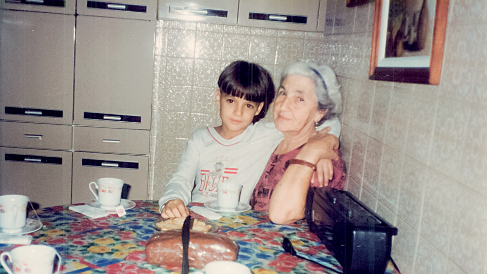 Felipe Neto e sua avó