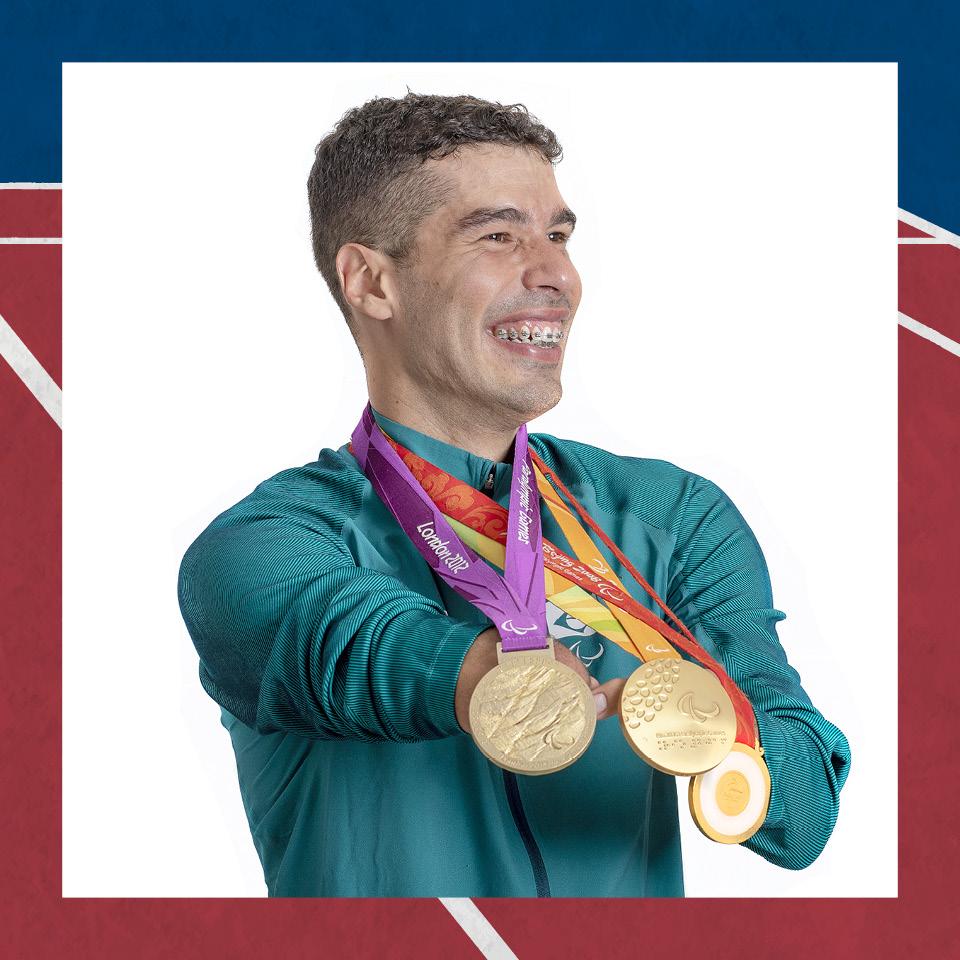 O nadador Daniel Dias, que se prepara para disputar sua última Olímpiada, passou um tempo longe das piscinas. Foi muito estranho, me senti um peixe fora d'água, diz