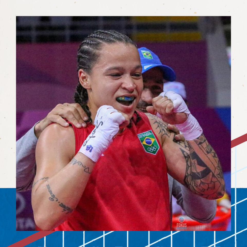 """A boxeadora Beatriz Ferreira, atual campeã mundial na categoria até 60 quilos, procurou apoio para se manter firme: """"O físico a gente treina, se desenvolve, mas o lado mental é muito complicado"""""""