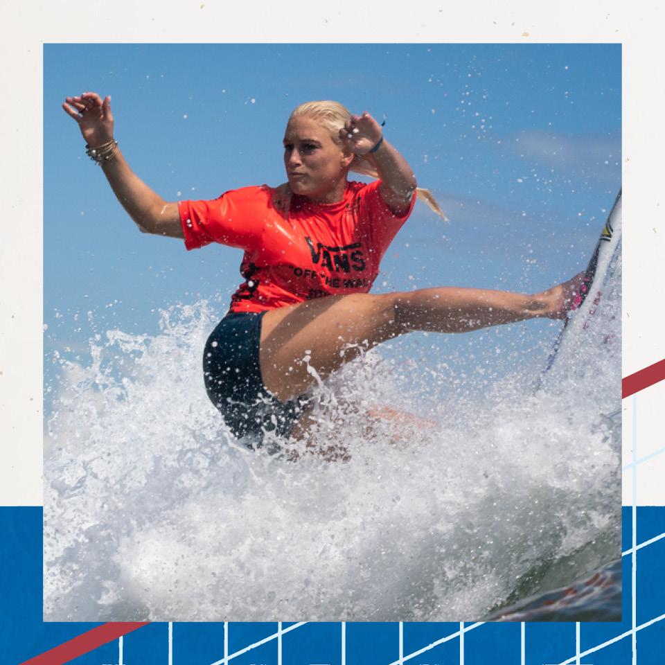 Tento sempre ser positiva, então, pensei: ganhei mais um ano de treino, conta a surfista Tatiana Weston-Webb