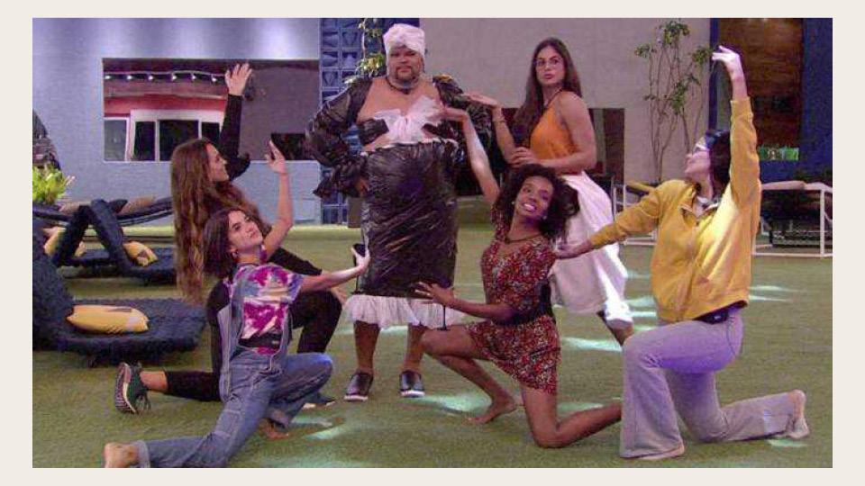 Manu Gavassi, Rafa Kalimann, Thelminha, Mari Gonzalez e Ivy transformam Babu em sister