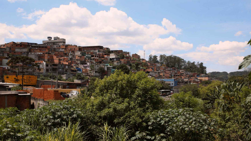 Comunidade de Pinheirinho, na zona leste de São Paulo