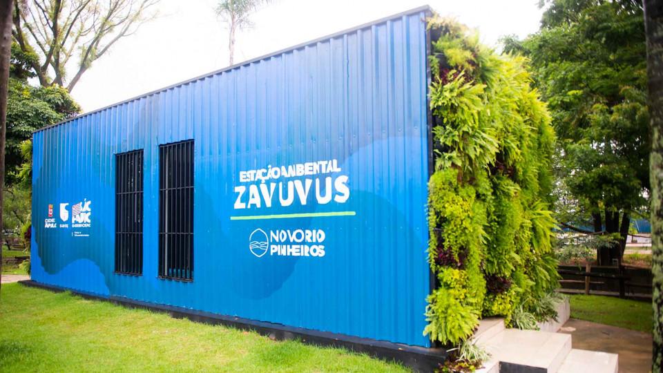 Estação Ambiental instalada pela Sabesp na zona sul de São Paulo reúne atividades de conscientização ambiental