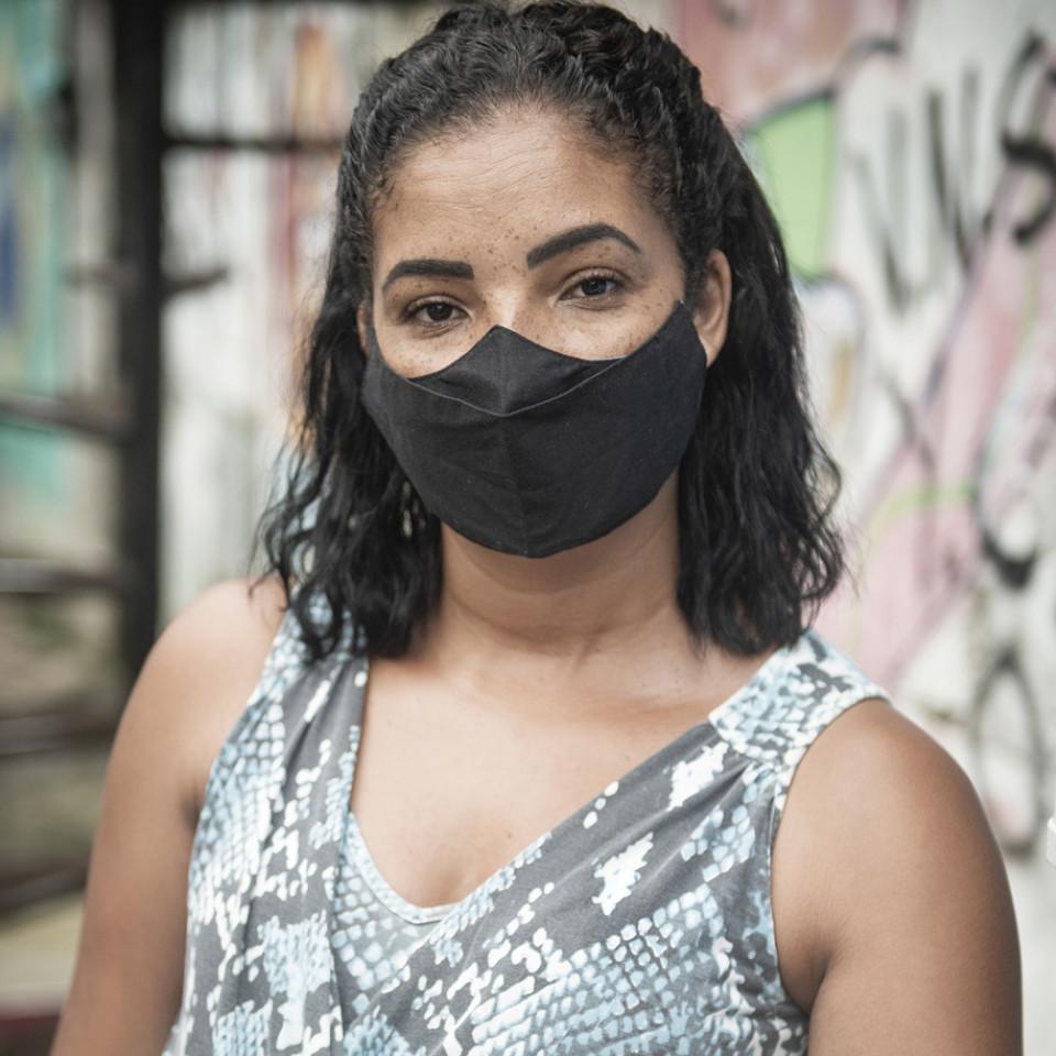 Manoela Pires, moradora do Jardim Consórcio, na zona Sul de São Paulo, foi impactada pelo programa Novo Rio Pinheiros, da Sabesp