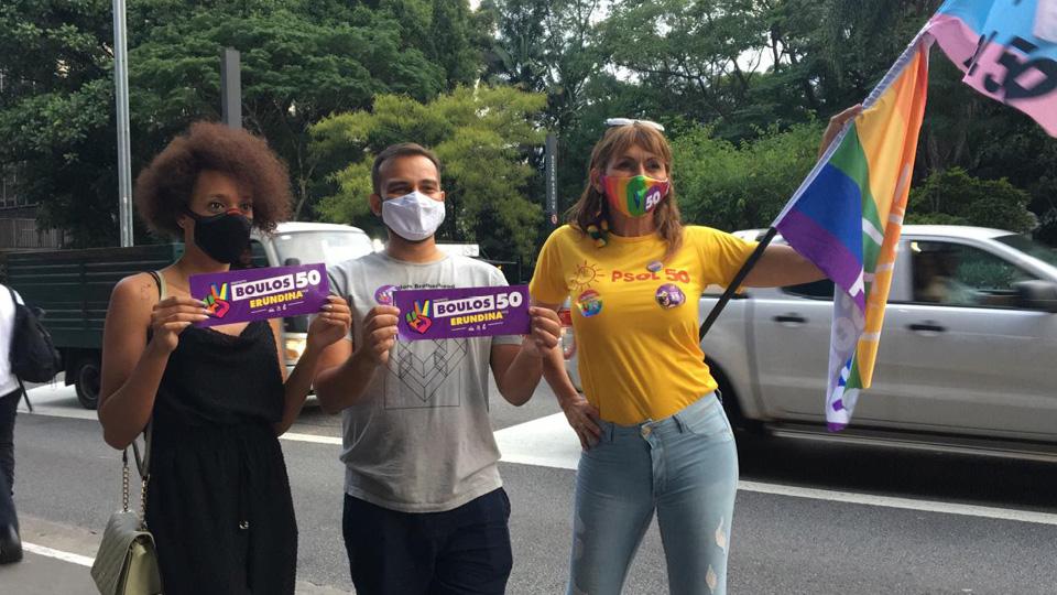 Erika Hilton (à esq.) e Linda Brasil (à dir.), duas das 30 vereadoras transexuais que tomaram posse nas câmaras municipais em janeiro deste ano