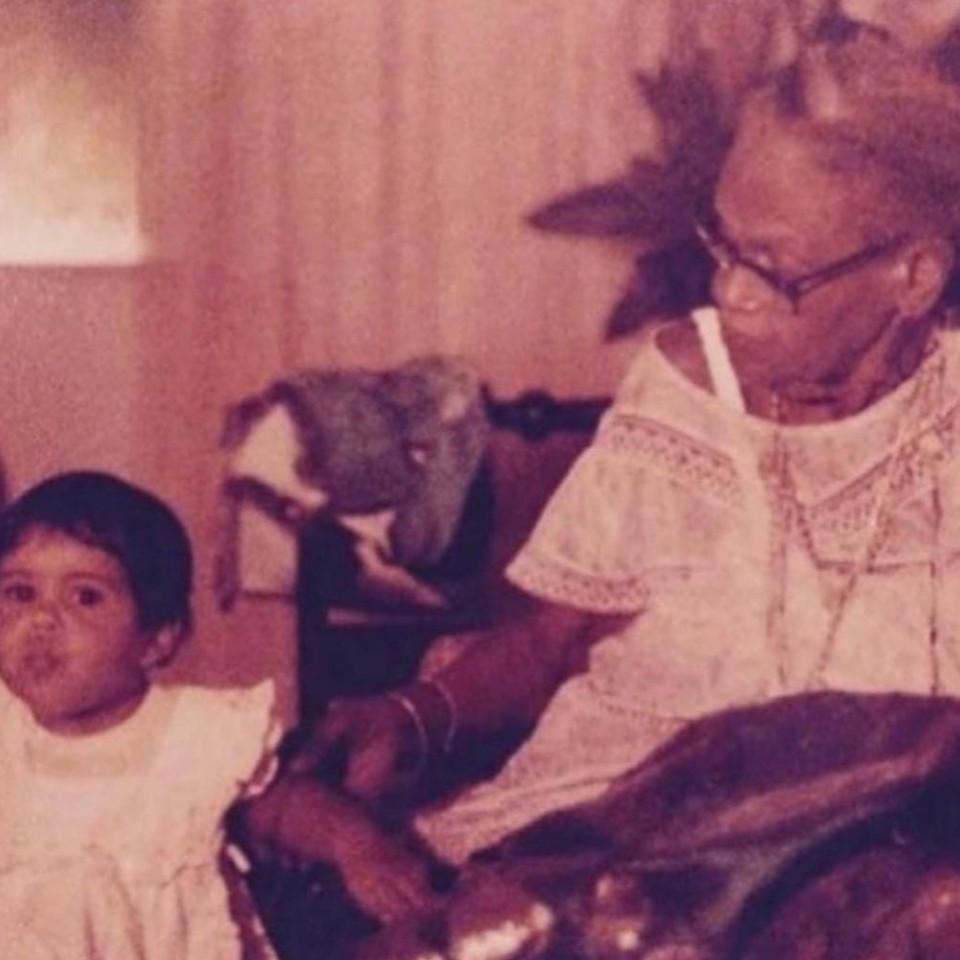 Mãe Menininha do Gantois Marina Morena criança