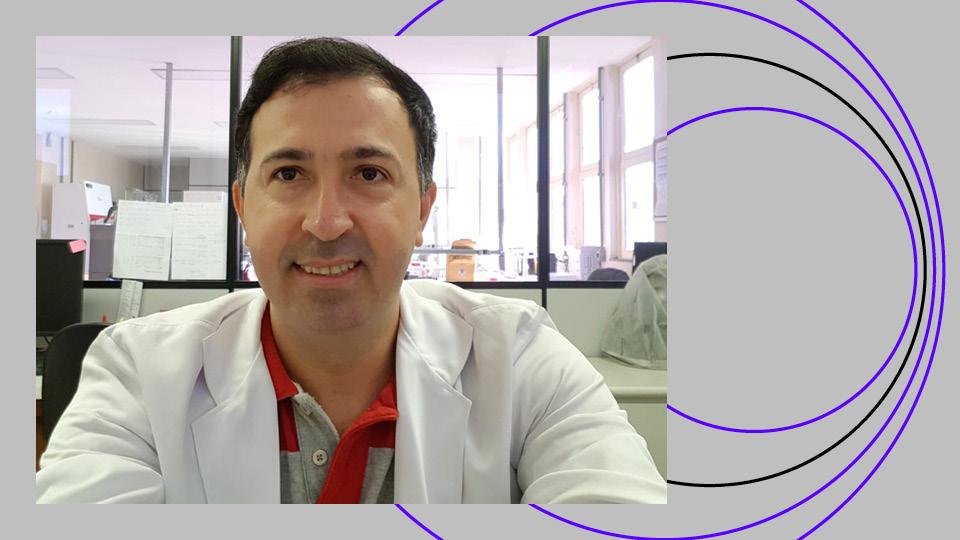 imunologista Gustavo Cabral jaleco