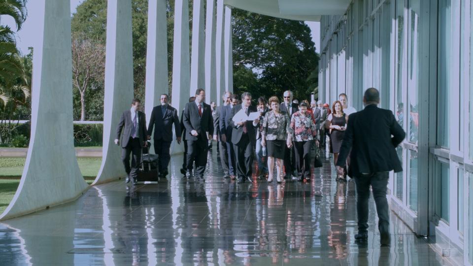 Palácio da Alvorada Dilma Filme Comitiva