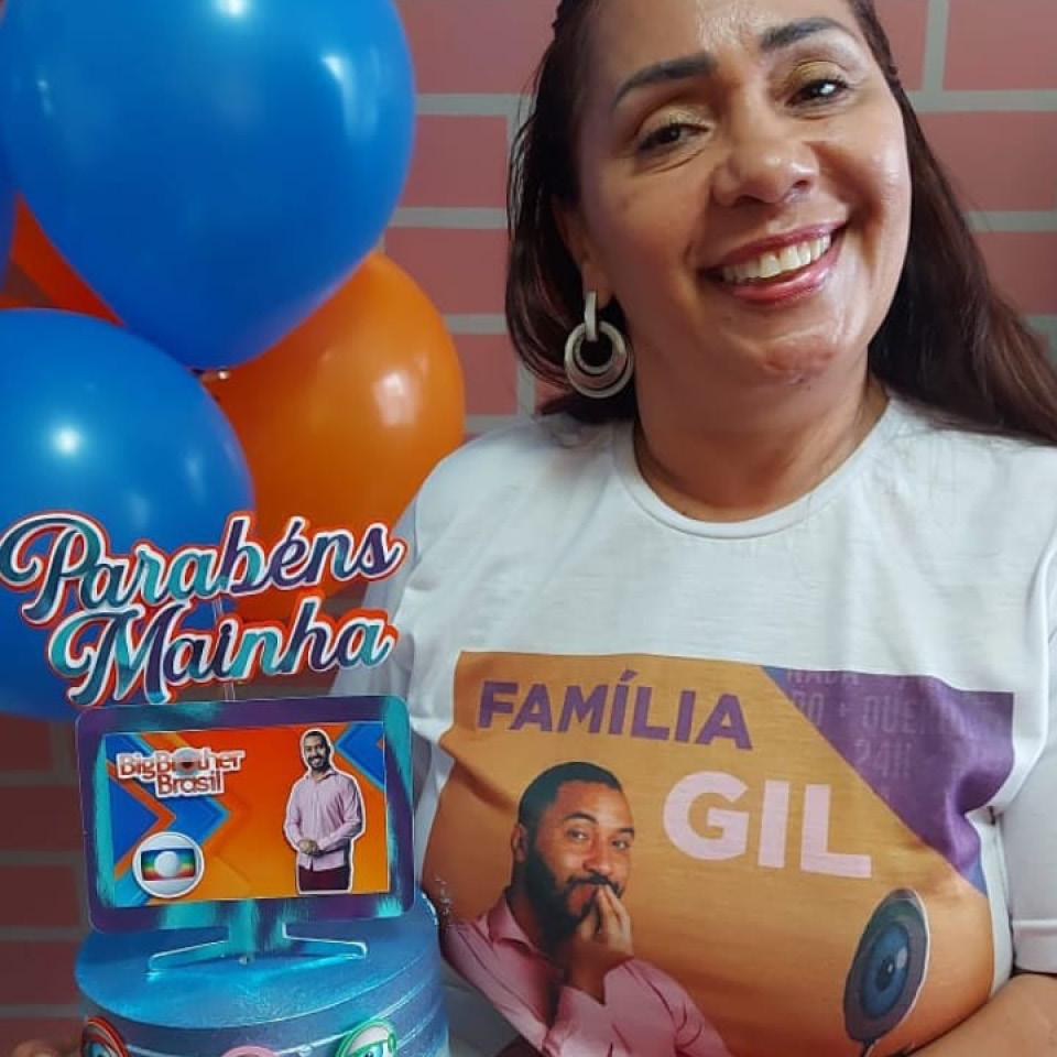 A pernambucana Jacira Santana, moradora de Jaboatão dos Guararapes, região metropolitana do Recife, é mãe do participante do BBB 21 Gil do Vigor