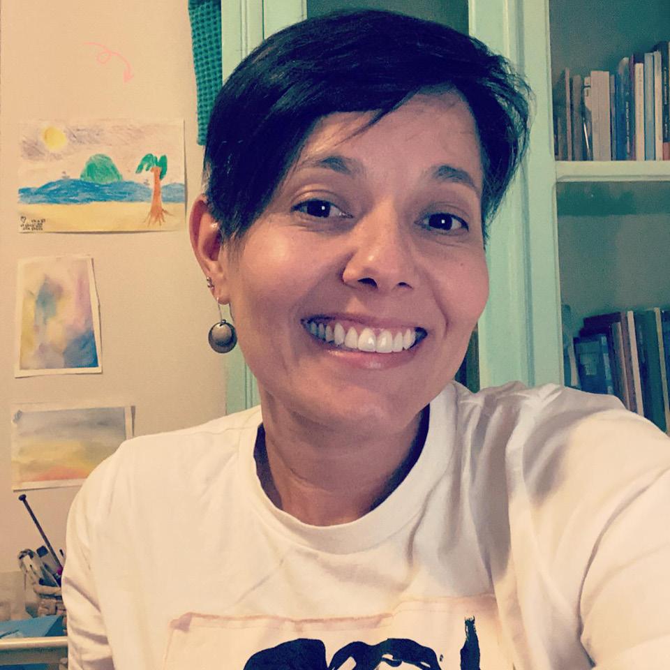 """A pedagoga Vilma Silva, 44 anos, não conseguiu se livrar do tabu que aprendeu em casa: """"Falo com minha filha sobre gravidez precoce, cuidados com o corpo, o papel da mulher, mas quase nada ou nada sobre prazer. Quando puxo esse fio do novelo de memórias encontro a ponta lá no reflexo da relação que tenho com a minha mãe"""""""
