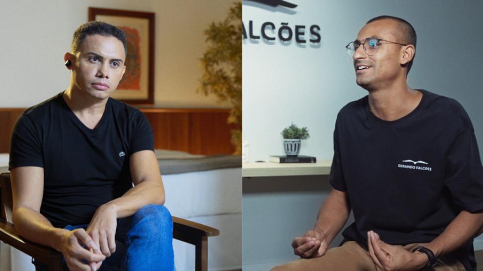 No Trip Transformadores, o empreendedor social Edu Lyra bate um papo com o ator e diretor Silvero Pereira