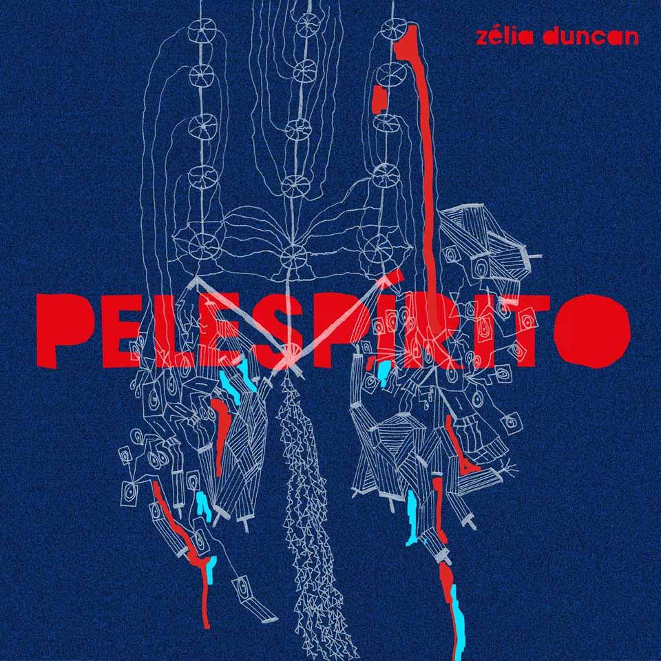 Pelespírito, disco com 15 composições inéditas, feitas junto com o cantor, compositor e guitarrista pernambucano Juliano Holanda