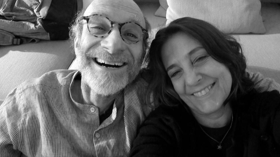 Claudia Lisboa e Eduardo Rozenthal, com quem foi casada por 13 anos