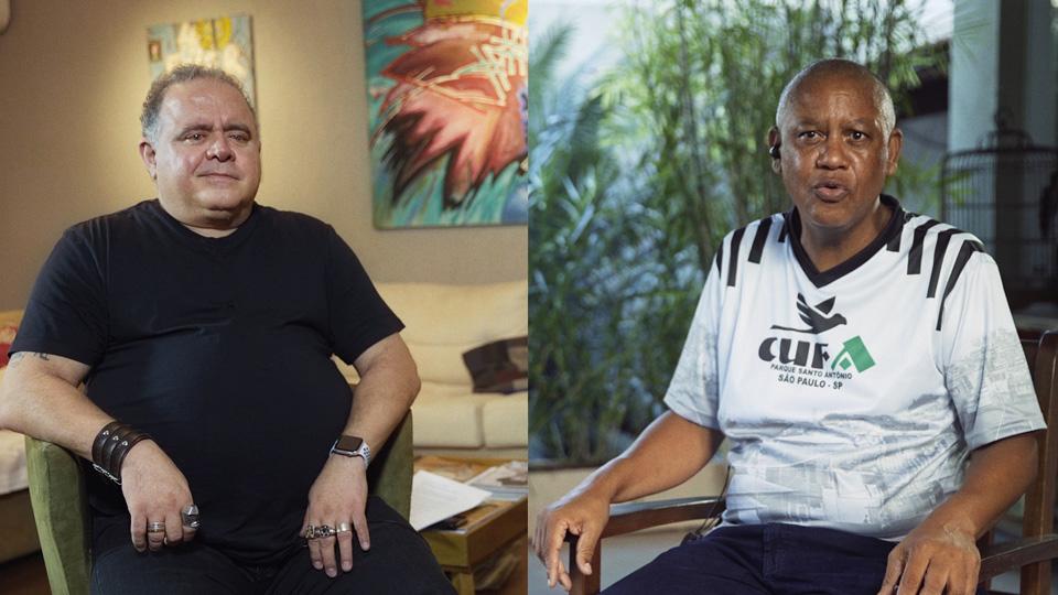 No programa Trip Transformadores na TV, o ator e cantor Leo Jaime conversou com o ativista social Celso Athayde sobre a potência das periferias
