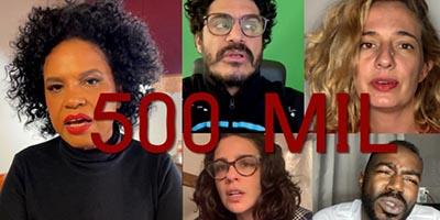 Criolo, Jonathan Azevedo, Letrux, Luana Xavier, Maria Ribeiro, Mika Lins e Teresa Cristina