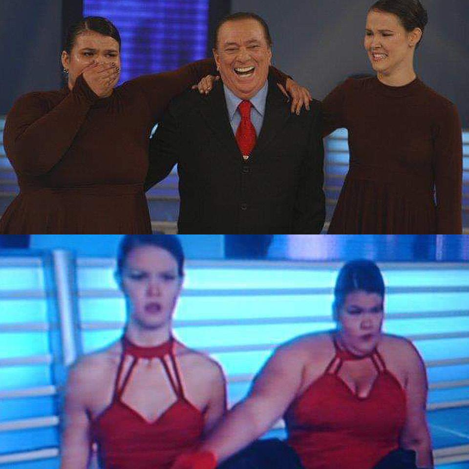 Thaís Carla nos concursos de dança que participou na televisão. Quando participei do Domingão do Faustão, aos 17 anos, as pessoas me perguntavam: 'Em quem você se espelhou para dançar?'. Eu falava: 'Gente, em ninguém. Você conhece algum bailarino gordo?'
