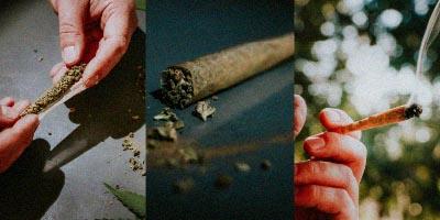 Maconha Baseado Cigarro de Maconha