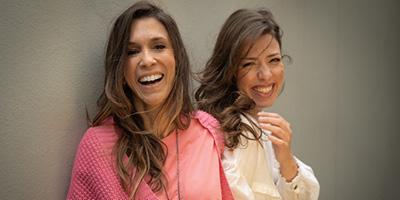 Sarah Oliveira e Roberta Martinelli