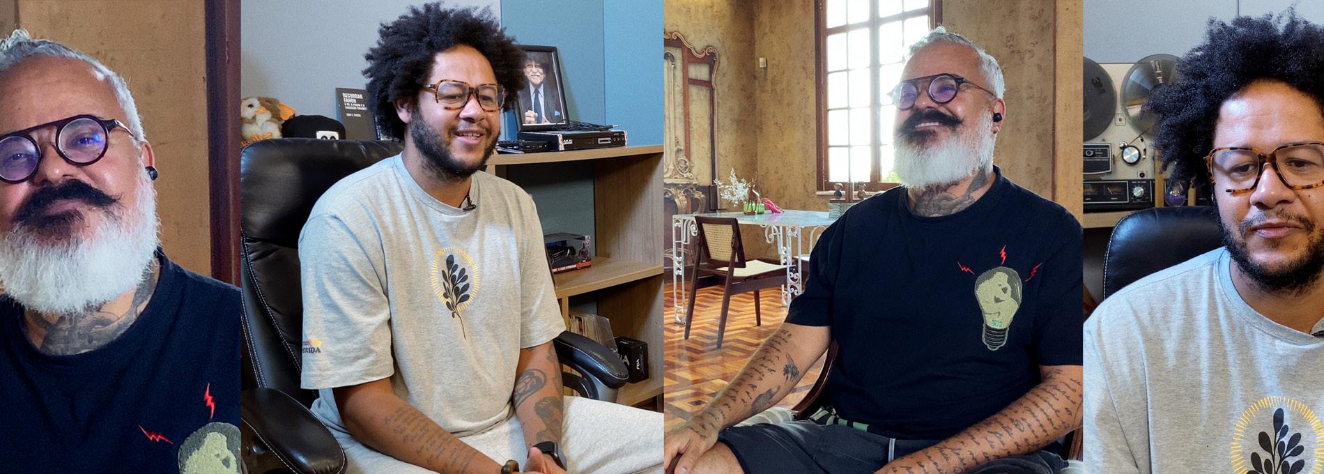 Emicida conversa com Ronaldo Fraga: Amar é essencial