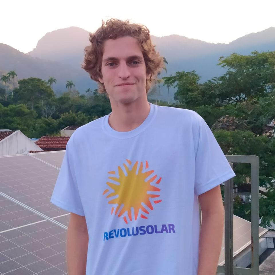 Eduardo Avila, diretor executivo da Revolusolar